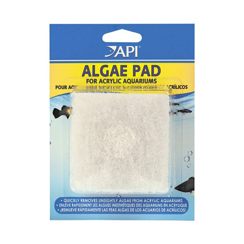 Algae cleaning pad